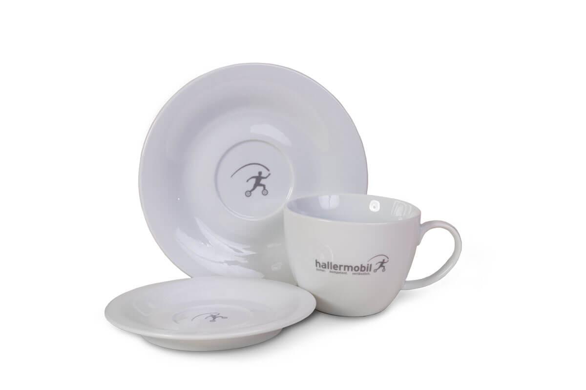 Geschirrsets und Tassen